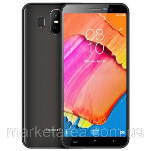 Смартфон Homtom S17 gray 2/16 гб серый с большим дисплеем и двойной камерой на 2 sim