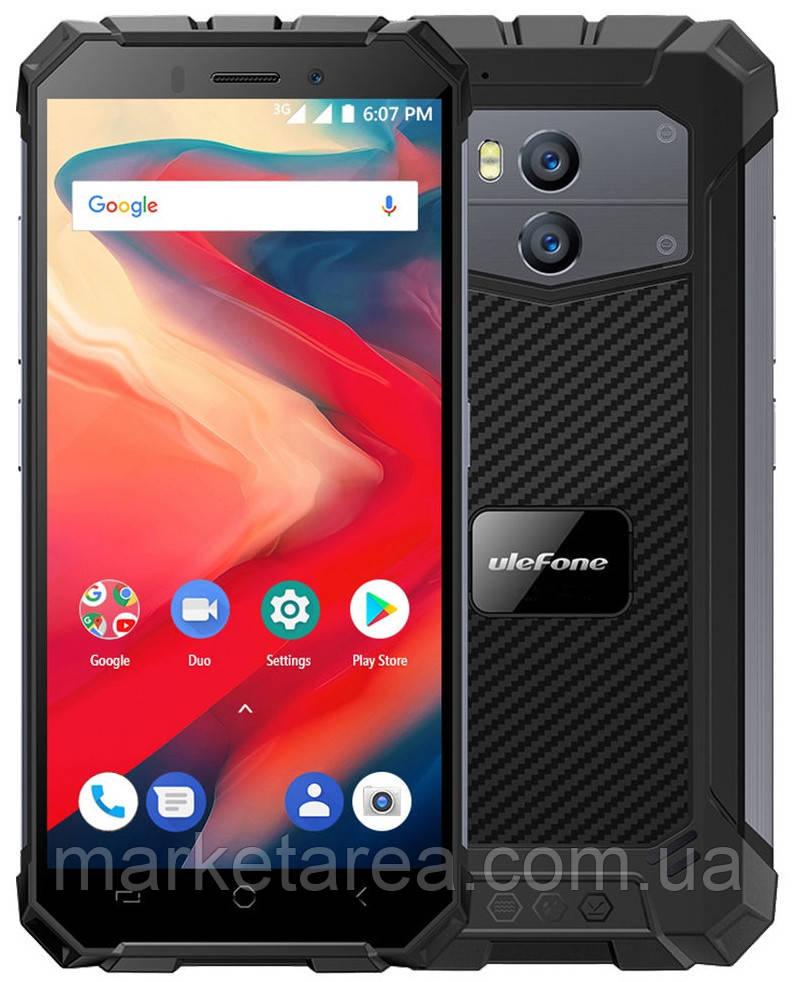 Телефон защищенный UleFone Armor X2 gray 2/16Гб NFC