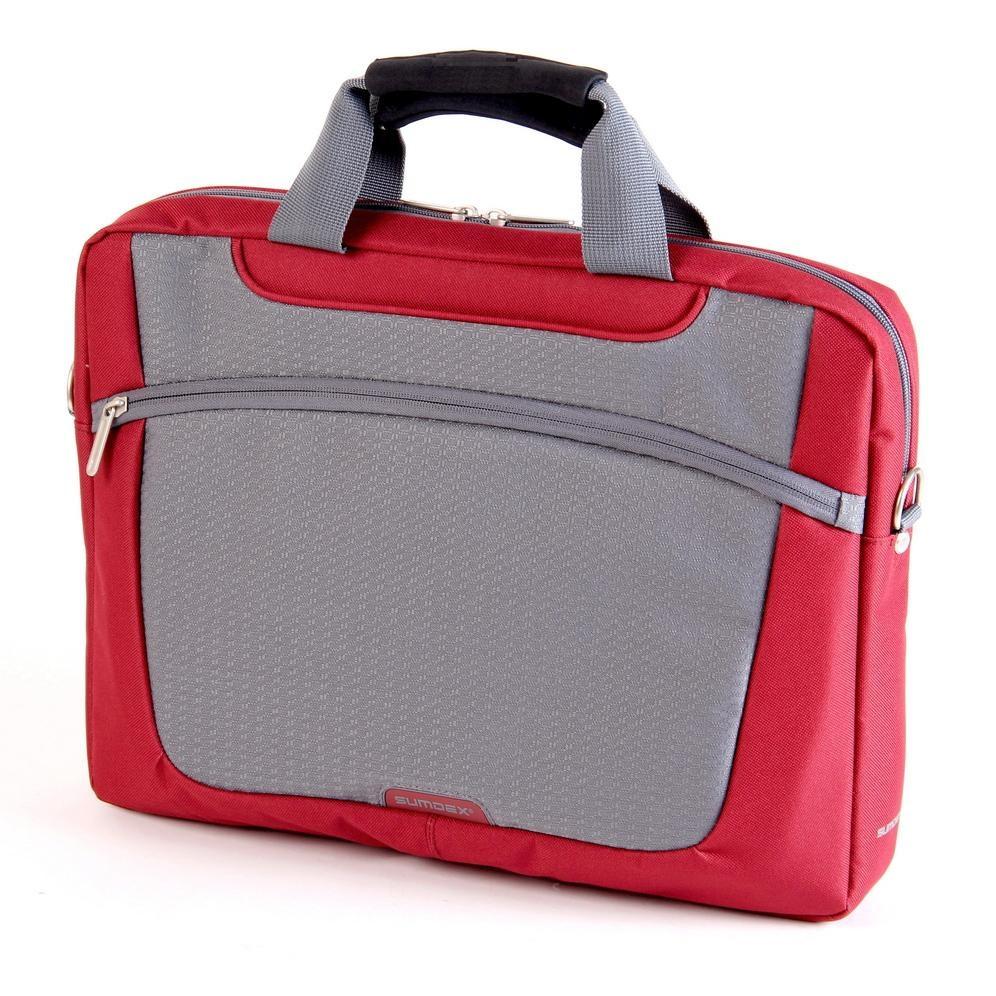 7fdc88611afe Сумка для ноутбука 16' Sumdex PON-318RD, Red, полиэстер, 38,7 x 28,6 ...