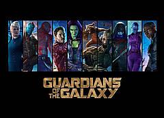 Картина GeekLand Guardians of the Galaxy Стражи Галактики постер к фильму 60х40см GG.09.002