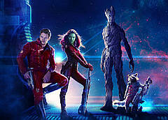 Картина GeekLand Guardians of the Galaxy Стражи Галактики постер к фильму 60х40см GG.09.003