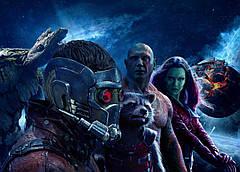 Картина GeekLand Guardians of the Galaxy Стражи Галактики постер к фильму 60х40см GG.09.006