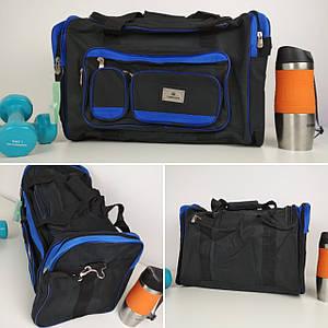 Мужская спортивная сумка с двумя ручками и плечевым ремнем 50*30*24 см