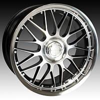 Диски для Mercedes R22 Keskin KT4 Black Front Polish