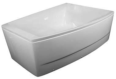 Акриловая ассиметричная ванна Volle TS-100 R 170*120 см правосторонняя