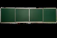 Школьная доска магнитная раздвижная 3000х1000 мм