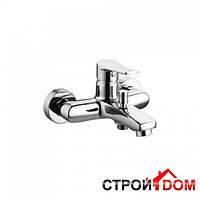 Настенный смеситель для ванны Volle Daniella 15162100 хром