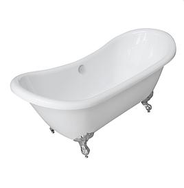 Акриловая ванна на орлиных лапах Volle 12-22-314 белая