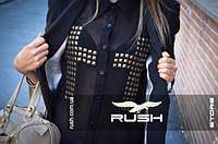 Шифоновая блуза с крестами, фото 1