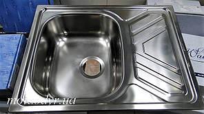Мойка кухонная Rodi RIO FLAT LUX OKG (50х65) с нержавеющей стали