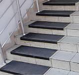 Противоскользящая резиновая накладка на ступени, фото 2