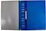 """Папка-скоросшиватель А4 Economix с перфорацией, фактура """"глянец"""", синяя, фото 2"""