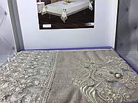 Кружевная скатерть 160Х220см  ISADORA в коробке asel серебро