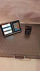 Весы торговые с беспроводным wi-fi с усиленной платформой 300кг 45/55см