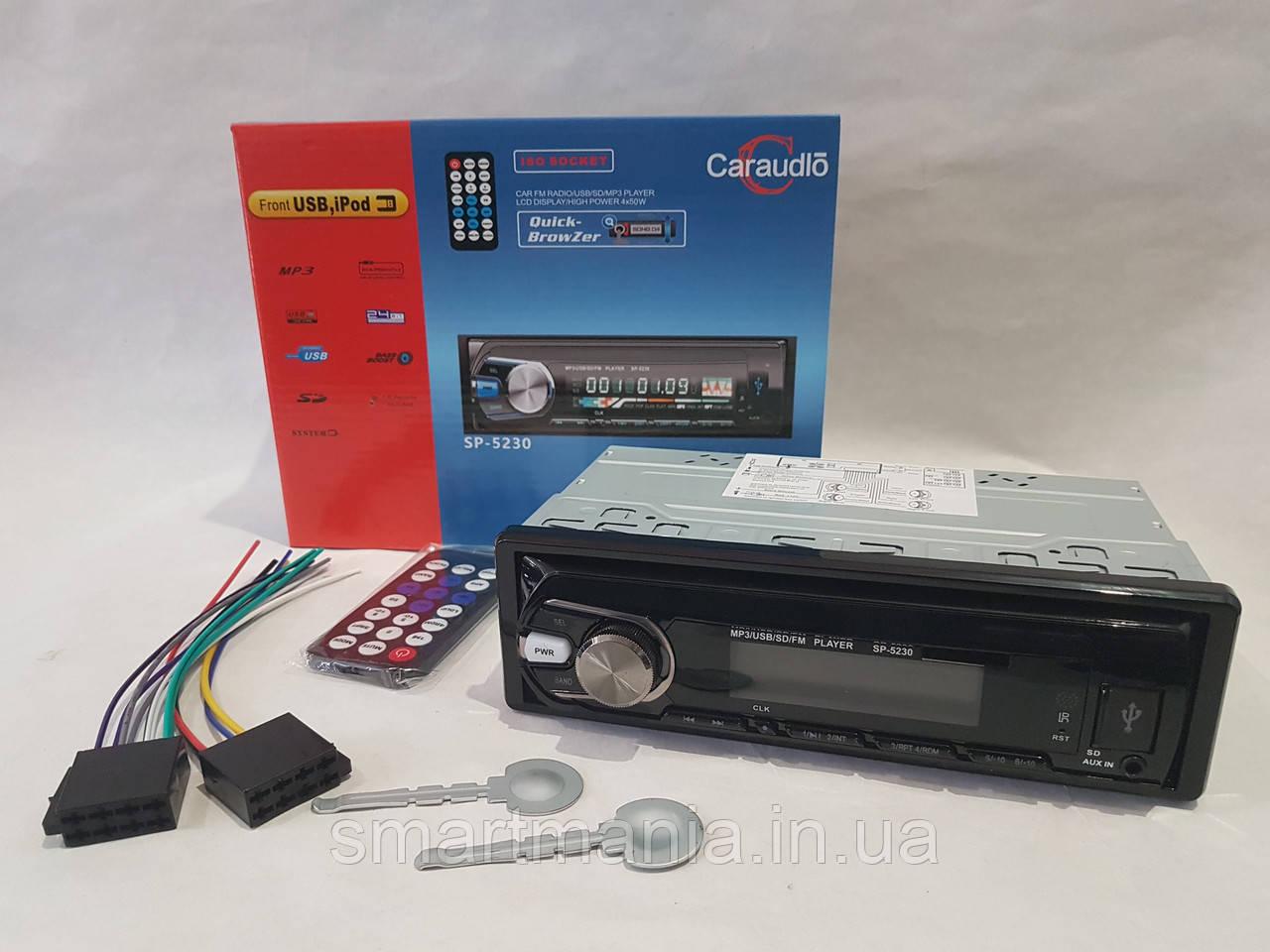 Автомагнитола SP-5230, MP3, FM, USB, Micro SD, AUX (аналог SONY)