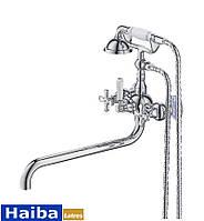 Смеситель для ванны Latres Retro 006