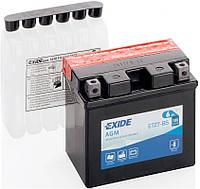 Аккумулятор гелевый 6Ah 100A EXIDE YTZ7-BS = ETZ7-BS 114x71x107