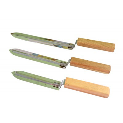 Нож пасечный трапециевидный из нержавеющей стали