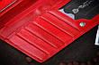 Кошелёк женский кожаный красный, фото 6