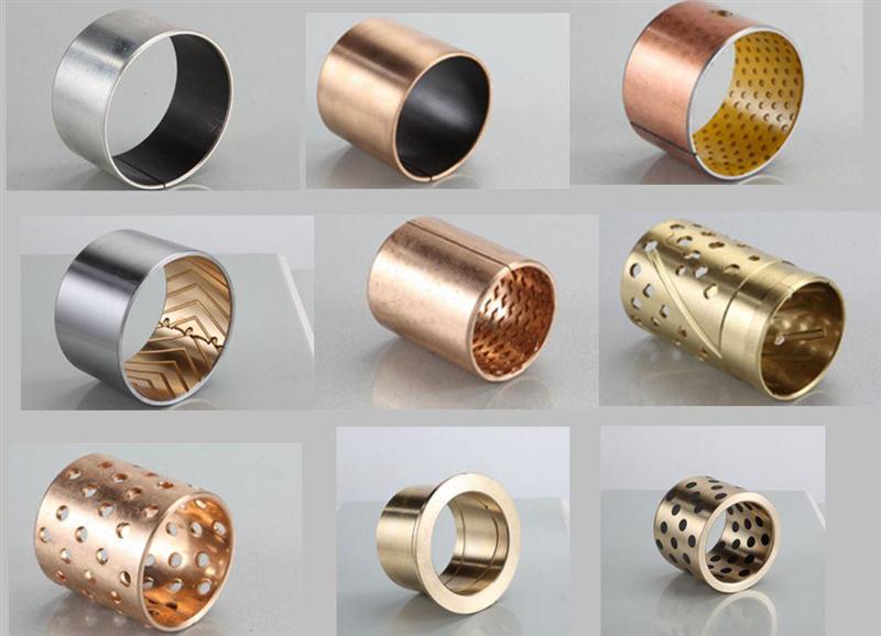 Втулки металло-полимерные на манипуляторы Велмаш, HIAB, PALFINGER, ATLAS, MILLER, FASSI