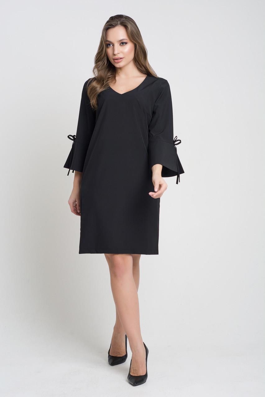 Стильное прямое женское платье