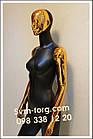Женский манекен матовый чёрный. Эксклюзив, фото 2