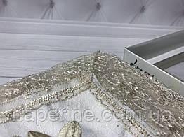 Кружевная скатерть 160Х220см  ISADORA в коробке gelincik gold