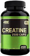 Креатин Optimum Nutrition Creatine 2500 Caps 200 капсул