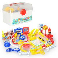 Доктор 8408B-4, 27 предметов, в чемодане, 23, 5-15, 5-15, 5см