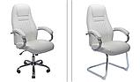 Офисное кресло Richman Флоренция-CF кожзам черный, фото 3