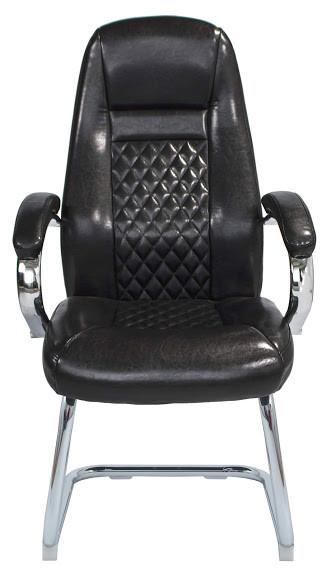 Офисное кресло Richman Флоренция-CF кожзам черный