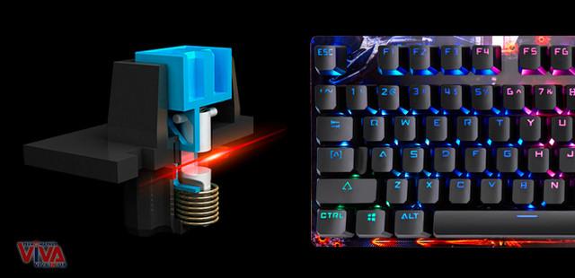 Клавиатура механическая игровая A4Tech B810R Bloody (NetBee)