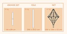 Конструкция из армированного каната Diamond, фото 3