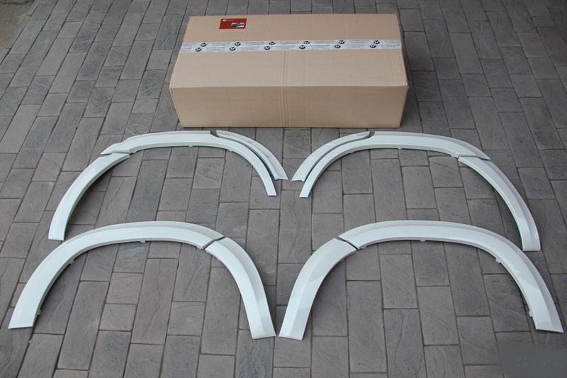 Расширители арок Toyota Land Cruiser (ABS-пластик)