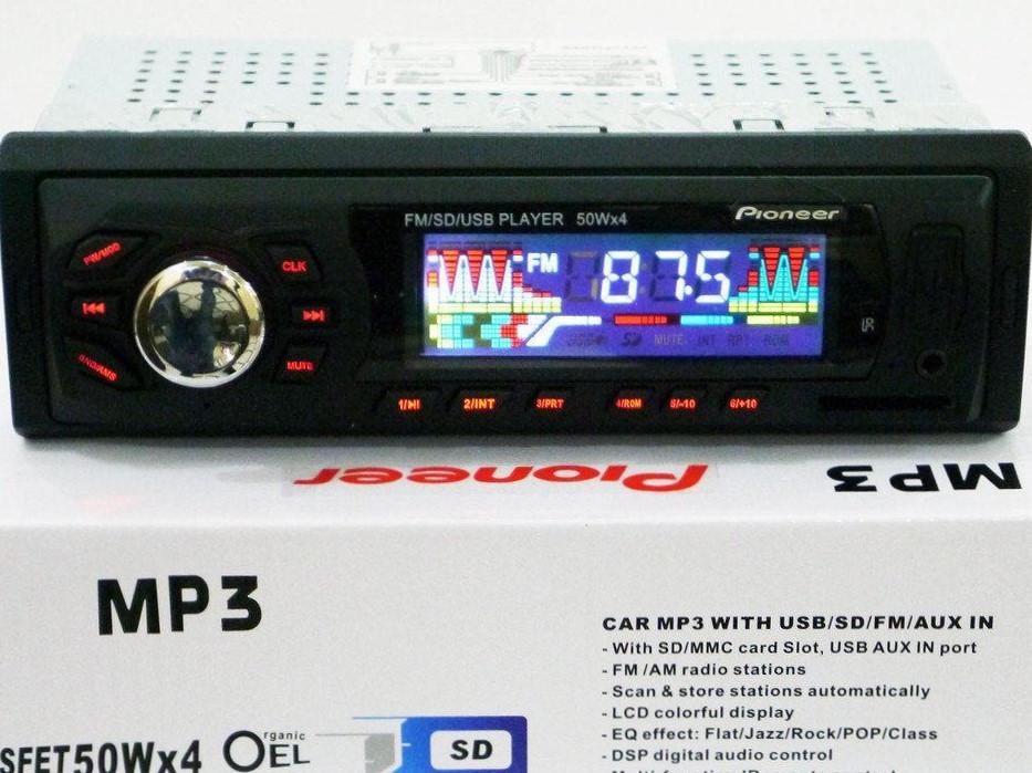 Автомагнитола Pioneer 6248  Bluetooth, MP3, FM, USB, SD, AUX
