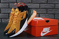 Кроссовки мужские в стиле Nike Air Max 270 Yellow (Реплика ААА+), фото 1