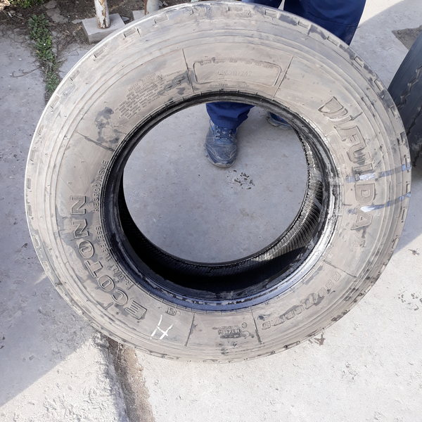 Грузовые шины б.у. / резина бу 235.75.r17.5 Fulda Ecotonn Фулда