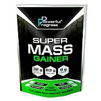 Гейнер Super Mass Gainer 1kg, Powerful Progress купить гейнер