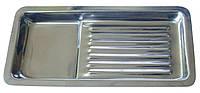 Лоток стоматологический на 8 инструметов  (200х90)