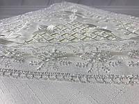 Кружевная скатерть 160Х220см  ISADORA в коробке gelincik wite