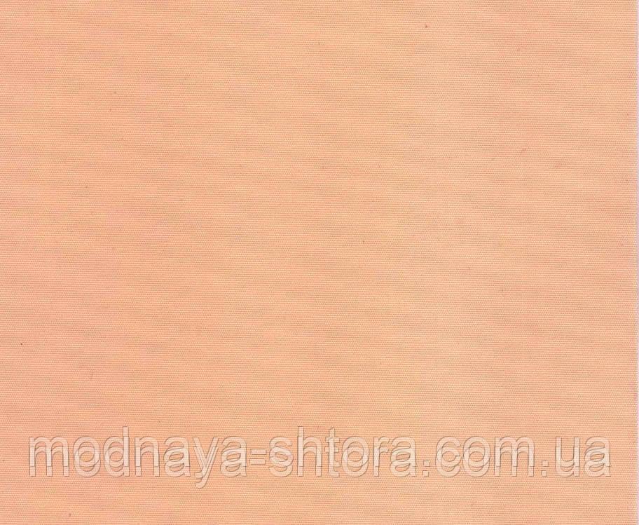 """Тканевые рулонные шторы """"Oasis"""" сатин (персик), РАЗМЕР 45х170 см"""