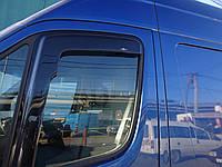 Дефлекторы окон (ветровики)  Mercedes Sprinter/ VW Crafter 2006 -> (ck) 2шт (Hic)
