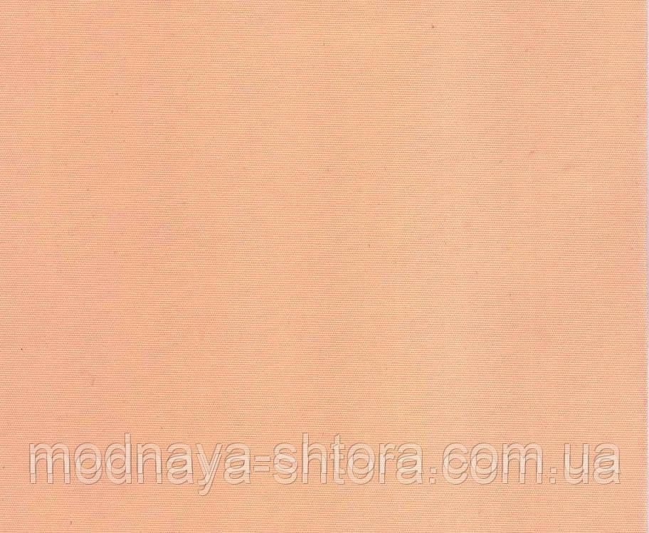 """Тканевые рулонные шторы """"Oasis"""" сатин (персик), РАЗМЕР 47,5х170 см"""