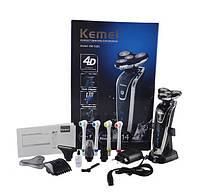 Электробритва-триммер-зубная щетка Kemei KM-5181, фото 10