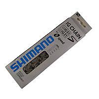 Цепь Shimano IG51  8 скоростей 116 звеньев велосипедная