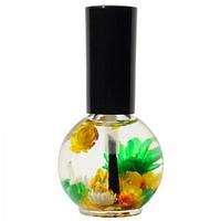 """Цветочное масло для кутикулы и ногтей Naomi """"Лимон"""" 15 мл"""