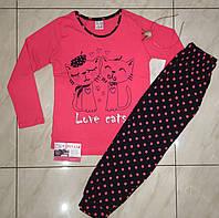 Детская пижама для девочки со штанами