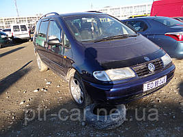 Дефлекторы окон (ветровики)   VW Sharan 1995->2010 5D 4шт (Heko)