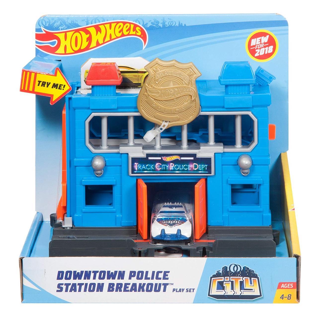 Hot Wheels Поліцейська дільниця