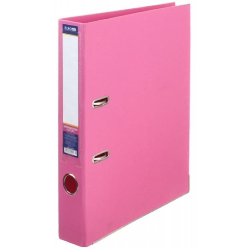 Папка регистратор А4 LUX Economix, 70 мм, розовая E39723*-09
